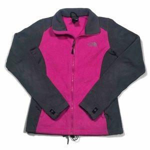 The North Face Fleece Jacket Black Pink